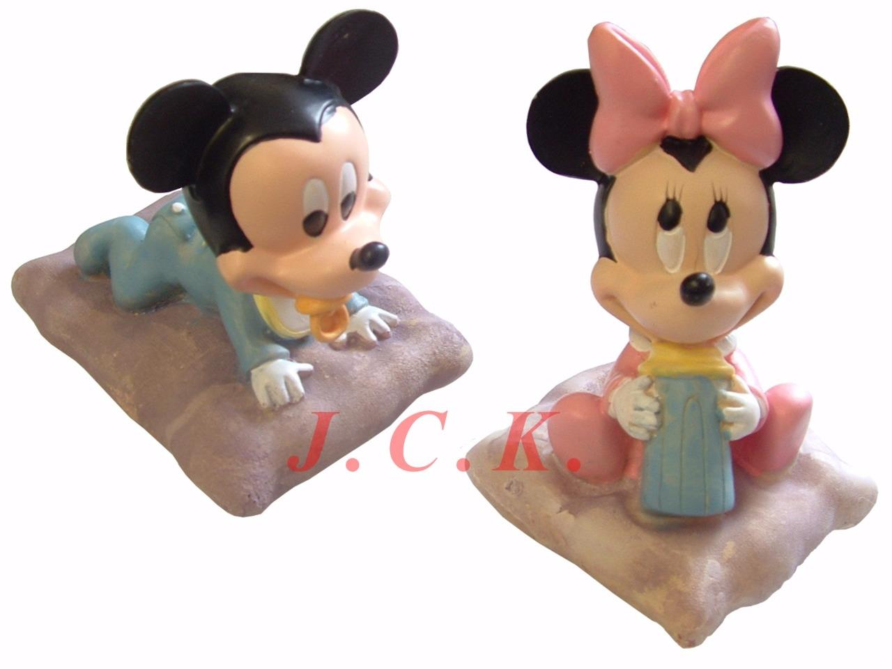 Baby minnie mickey mouse christening 1st birthday shower for Baby mickey mouse decoration