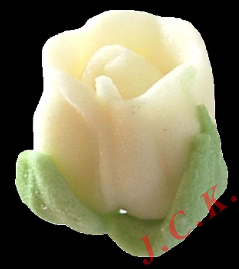 30 sugar rose buds wedding cupcake cake topper decoration - reduced ...