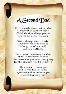 Step Daddy Poems Wedding Ideas