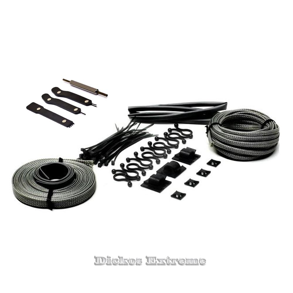 Mod-Smart-Supreme-Kobra-System-Expandable-Cable-Sleeving-Kit-Carbon-Fibre-Mod