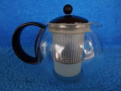 Bodum Glass Tea Press Infuser Teapot 17 Oz Mint Ebay