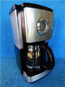 Gevalia Stainless Steel Black 12 Cup Automatic Coffee Maker Model CM-650 - Mint eBay