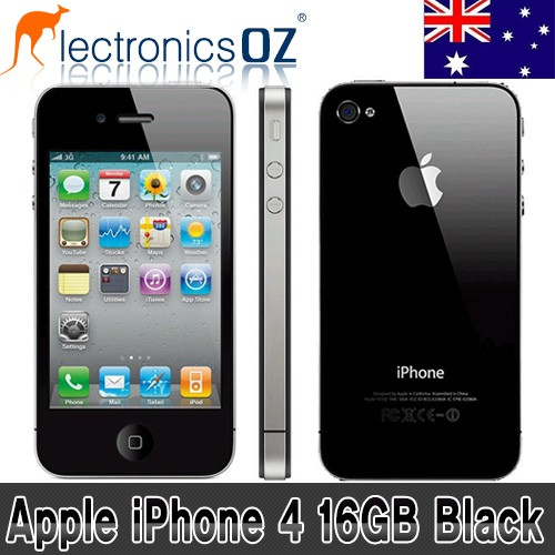 Unlocked-APPLE-iPhone-4-16GB-Smartphone-Mobile-Phone-Black