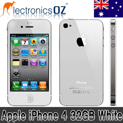 Unlocked-APPLE-iPhone-4-32GB-Smartphone-Mobile-Phone-White
