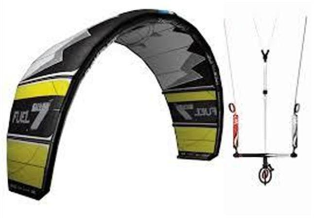 2012-Slingshot-Fuel-6m-kiteboarding-package-includes-kite-bar-NEW