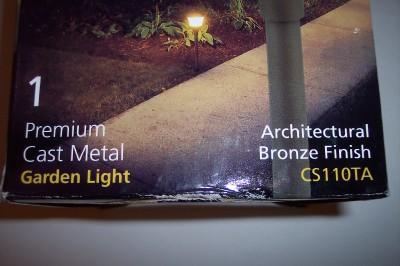 Malibu cs110ta bronze premium landscape garden lights