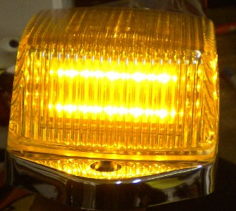 5 peterbilt grakon 5000 style 31led square cab lights. Black Bedroom Furniture Sets. Home Design Ideas