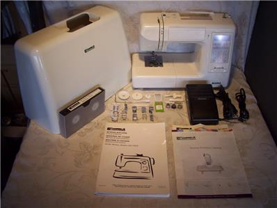 Kenmore model computerized sewing machine with for Machine a coudre kenmore modele 385
