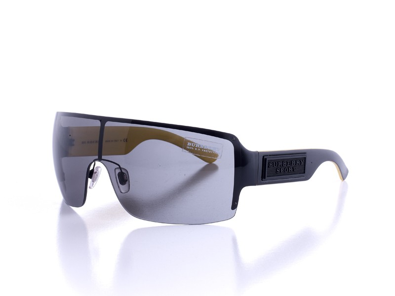 Burberry BE 3046 Sunglasses Colour 1001/87 Black & Yellow