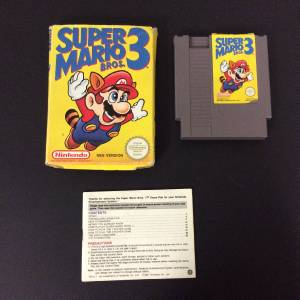 Nintendo Entertainment System Game IN BOX Super Mario Bros ...