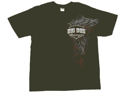 Big Dog Motorcycles Mens The Gabriel Tee