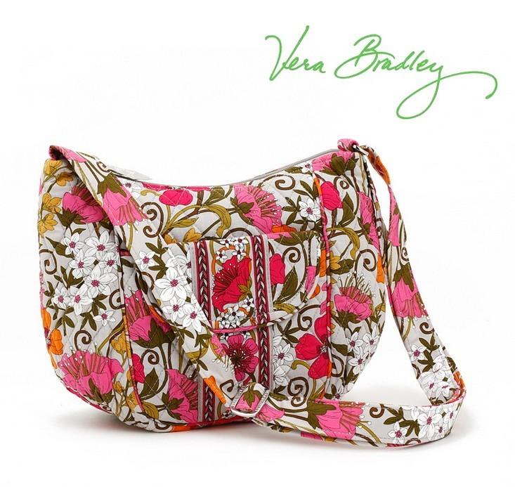 Nwt Vera Bradley Clare Crossbody Purse Bag Tea Garden Ebay