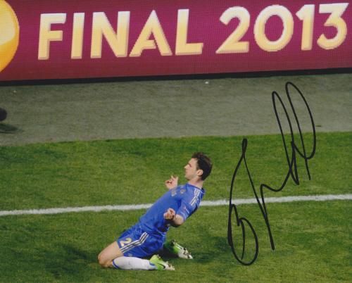 Branislav-Ivanovic-Europa-Cup-Final-Signed-8x10-Chelsea-Photo-AFTAL-UACC-RD