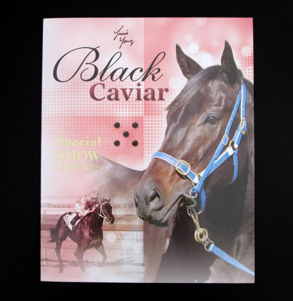2013-BLACK-CAVIAR-STAMP-PACK-SIGNED-ISSUE-GOLD-OVERPRINT-SPECIAL-SHOW-EDITION