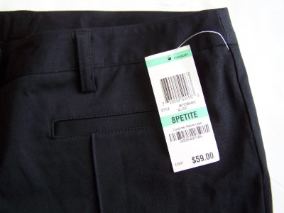 Maternity Fashions  Petites on New  59 Inc International Concepts Petite Size 8 Classic Black Crop