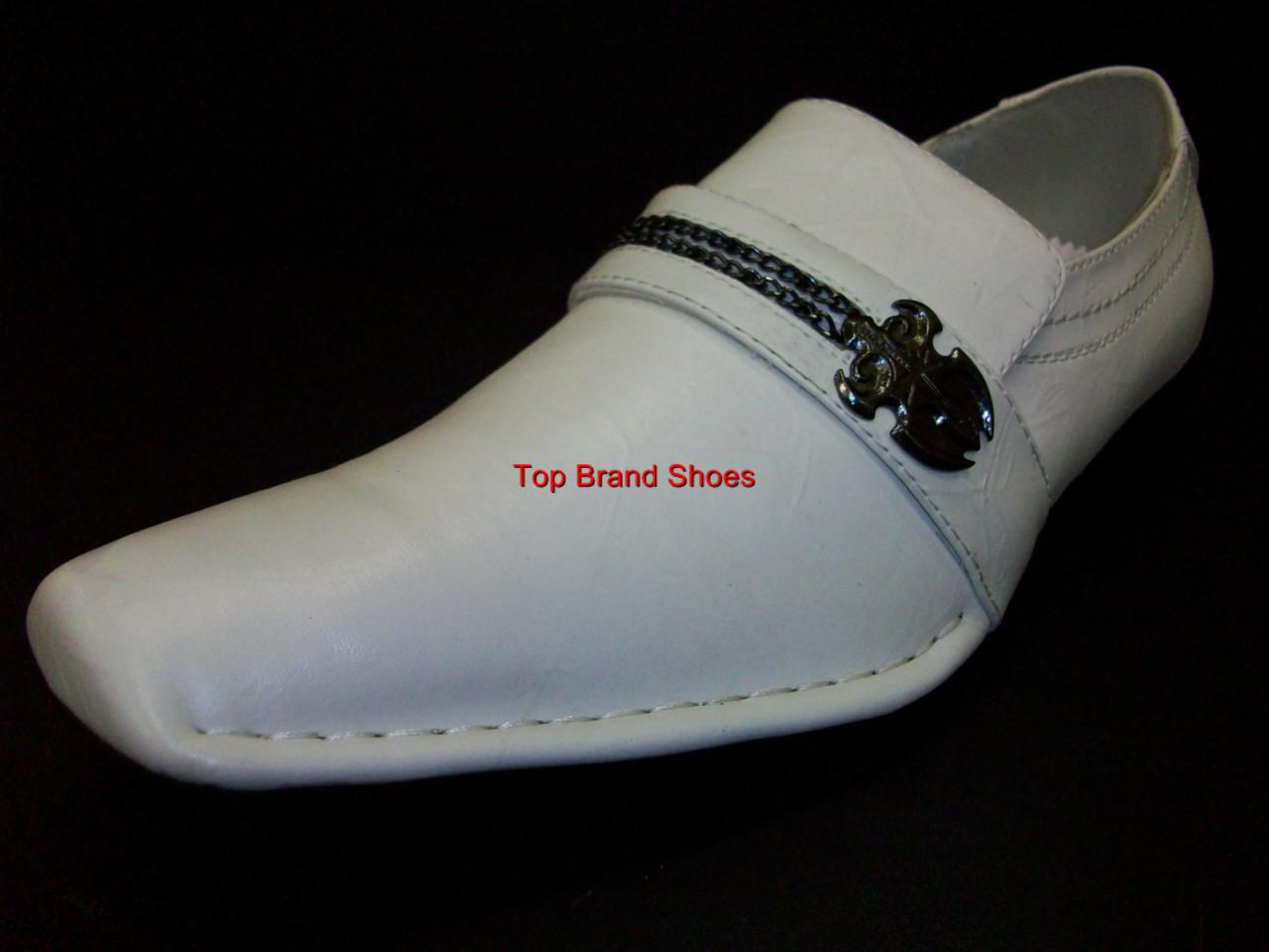 designer italian style white dress casual shoes loafers ebay