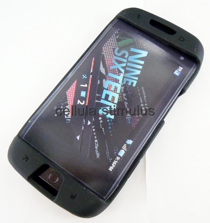 OEM T Mobile Sidekick 4G Black Soft Gel Skin Case Cover