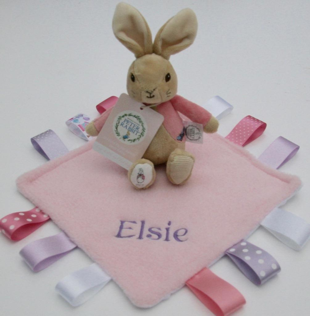 Different Baby Gifts Uk : Flopsy bunny rattle peter rabbit taggy blanket