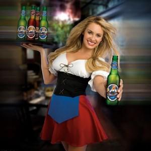 gefeliciteerd bier vrouw