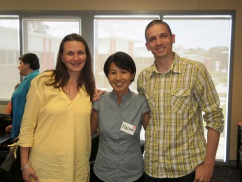 Maria and I with B1G1 Funder, Masami Sato