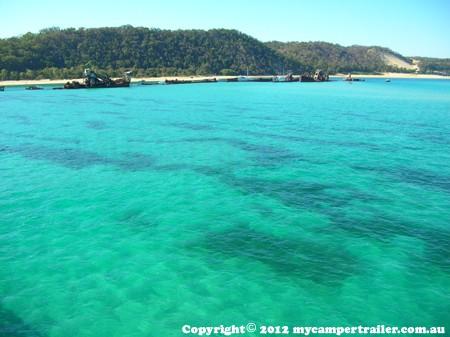 Approcahing Moreton Island