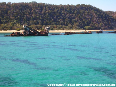 Moreton Island Ship Wrecks