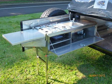 Elegant Kitchen Travel Trailer Slide Out Camper Never Used  Travel Trailers