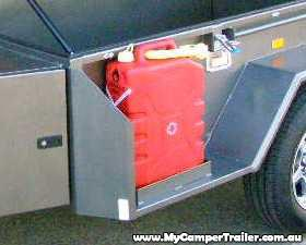 Extra Jerry Can holder