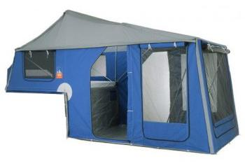 blue tongue tent