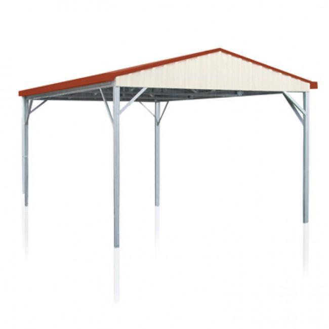 Spanbilt single carport gable roof x in 3 for Gable carport prices