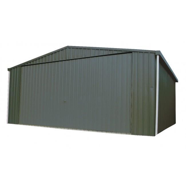 Absco double garage 6m x 6m wide tilt door colorbond sheds for 30 foot wide garage door