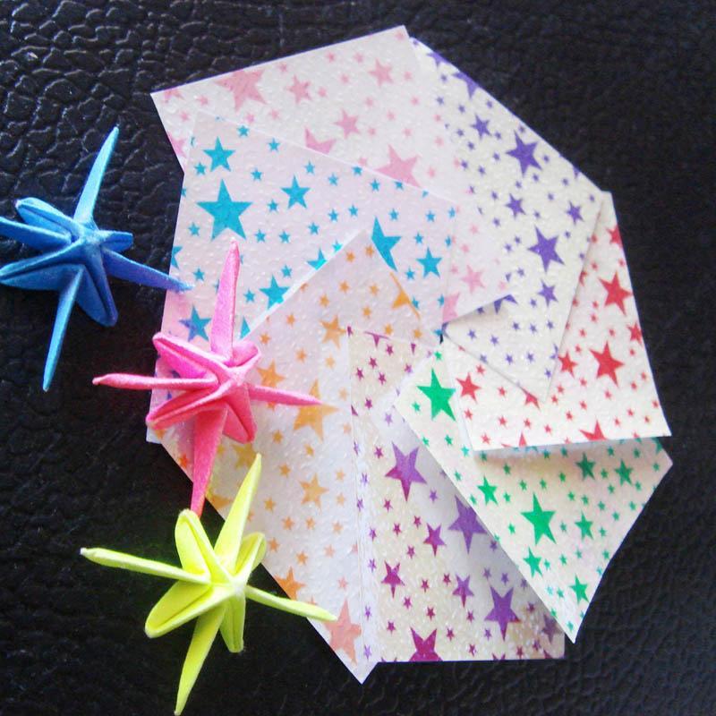 lucky wish mini crane bird origami paper ribbon free