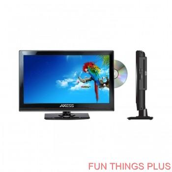 "TVD1801-13 13.3"" LED AC/DC TV with DVD Player Full HD with HDMI, SD card reader"