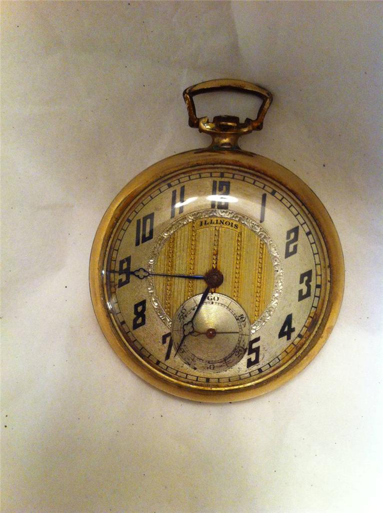antique illinois pocket not working ebay