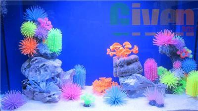 décoration aquarium silicone