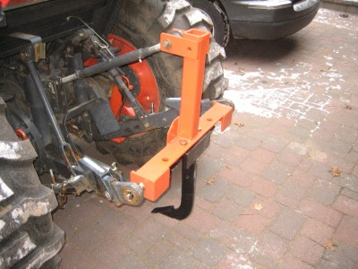 3 point hitch hook up