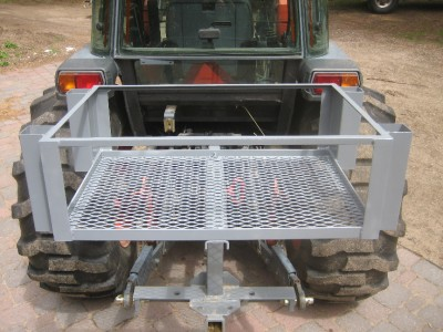 OMNI  3 Point Combo Kubota BX  Series Sub Compact Tractor Trailer Hitch w// pins
