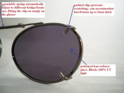 Solar Shield Clip Sunglasses Size Chart Www Tapdance Org