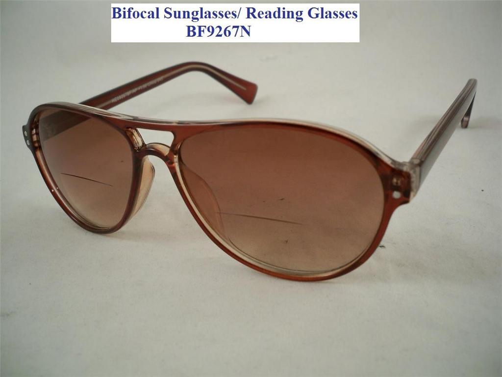 bifocal sunglass reading glass aspheric lens 9267 new ebay