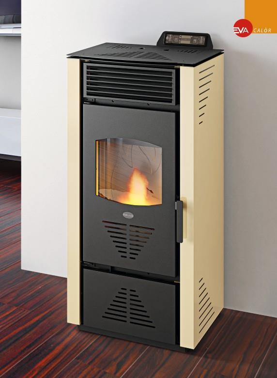 poele a granules pellet eva calor paola 13 kw 300m3 programmation. Black Bedroom Furniture Sets. Home Design Ideas