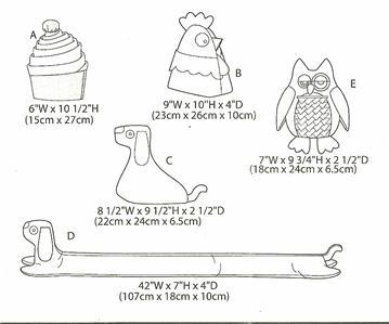 Draft Stopper Pattern | Sewing Craft Warehouse