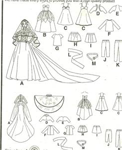 vintage barbie sewing patterns   eBay - Electronics, Cars