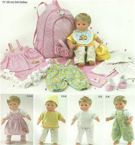 Baby doll clothing | Baby born doll clothing