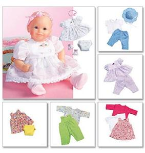 Dress Pattern for Bitty Baby ® Bitty Twin ® Doll