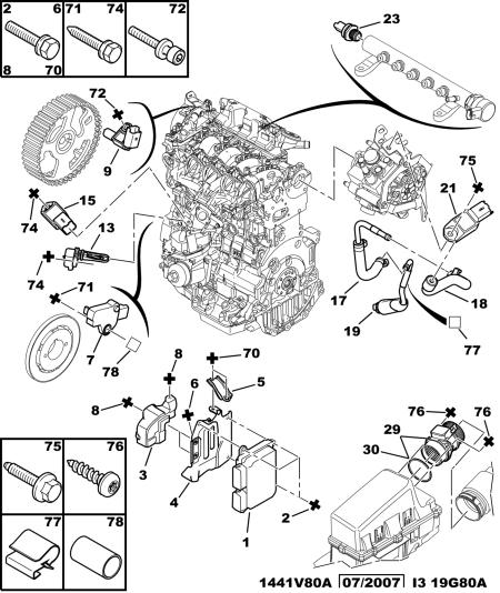 peugeot 406 hdi engine diagram