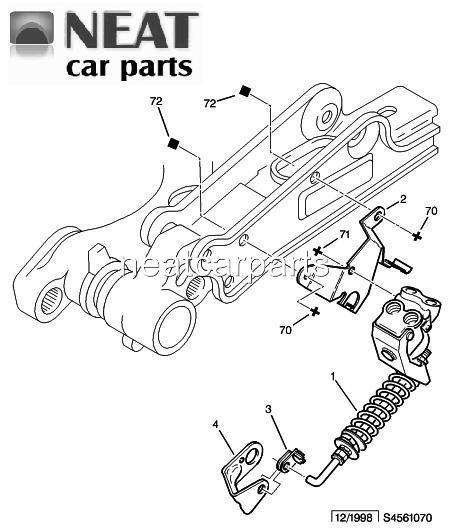 brake load compensator valve for peugeot 306 citroen xsara