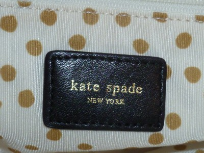 NWT KATE SPADE EDITORIAL ROLAND PARK CECILIA WITH DUST BAG LARGE BLACK