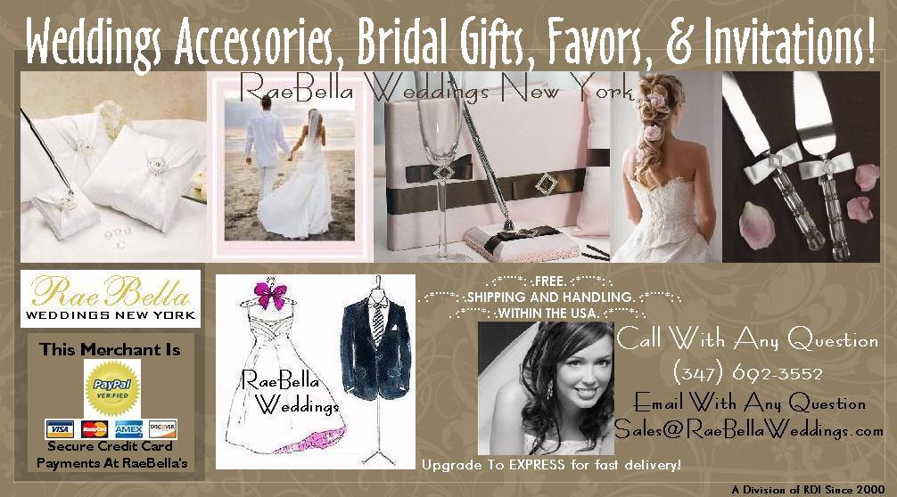 raebella weddings bridal accessories invitations and favors on ebay