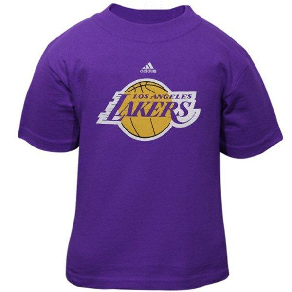 adidas los angeles lakers toddler t shirt 2t 3t 4t. Black Bedroom Furniture Sets. Home Design Ideas