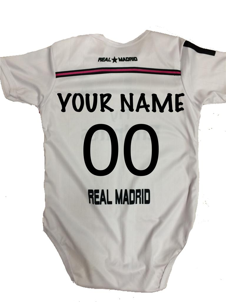 Real Madrid Baby Toddler Ronaldo Jersey Without